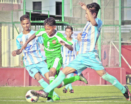 Tribhuvan Army closer to quarterfinals, Saraswati keeps hope alive