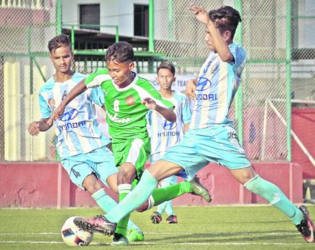 Tribhuvan Army closer to quarterfinals, Saraswati keeps hope alive