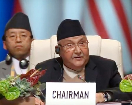 PM Oli leads general debate on 'Upholding Bangdung Principles'