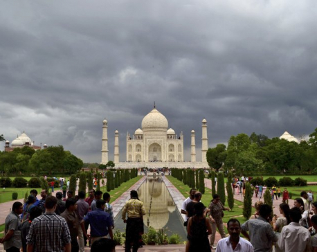 Monument of love, the Taj Mahal, at heart of political storm