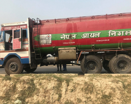Hijacked tanker found empty in Dhanusha