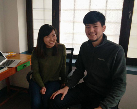Inspired by Nepalis' support during earthquake, two Japanese set up coding company