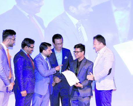 Sachin Dangi feted with Glocal Teen Hero 2017
