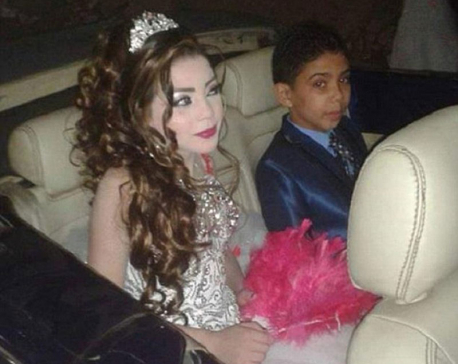 Outrageous! Boy, 12, to marry his 11-year-old cousin in Egypt