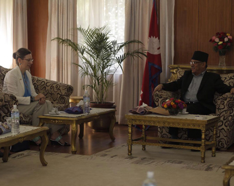 US Ambassador Teplitz calls on PM Dahal