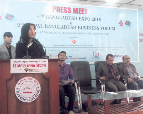 4th Bangladesh Expo 2018 set to kick off in Kathmandu