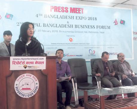 4th Bangladesh Expo 2018 set to kick off in Kathmandu