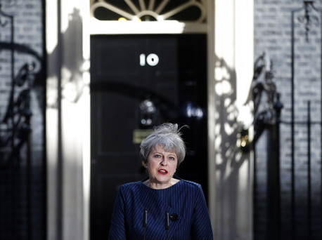 Britain's prime minister to seek early election on June 8