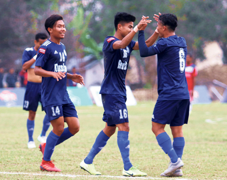 Three Star into Khaptad Gold Cup semis
