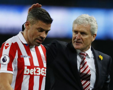 Tame Man City frustrated in goalless draw with Stoke