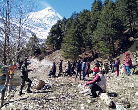 Mustang's lakes get new look after cleanliness drive