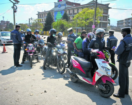 316 Holi revelers detained, 694 motorcycles fined