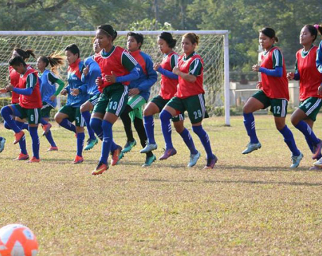 Nepali eves face India in semifinal today