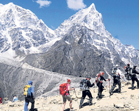 Number of group trekkers increasing