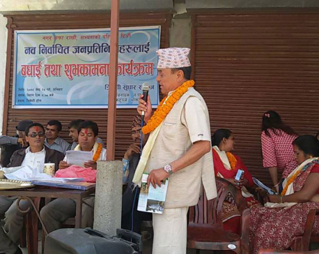 Samaj determined to develop Tribeni Tole: Ghimire