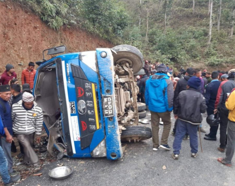 Seven dead, 15 injured in Dhading truck accident