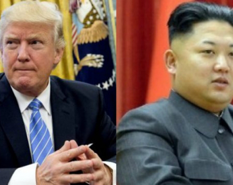 Trump says he'll meet with North Korea's Kim Jong Un