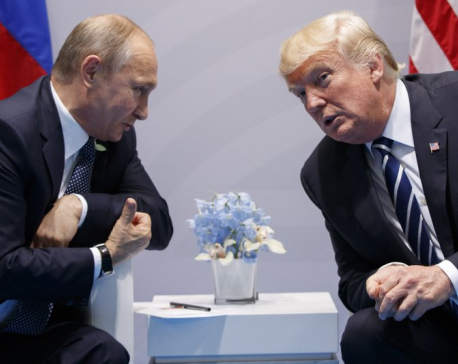 Trump says he had a 'tremendous meeting' with Putin