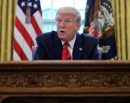 Trump says China wants him to lose his bid for re-election