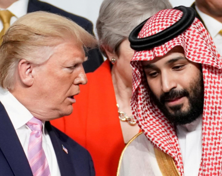 Trump told Saudis: Cut oil supply or lose U.S. military support - sources