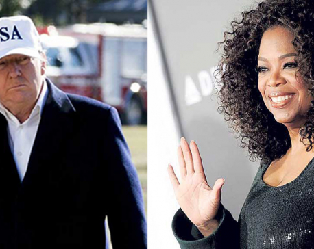 President Winfrey? No way, says Trump: I'll beat Oprah