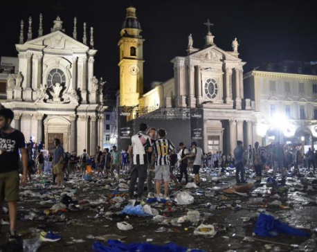 More than a thousand Juventus fans injured in stampede in Turin