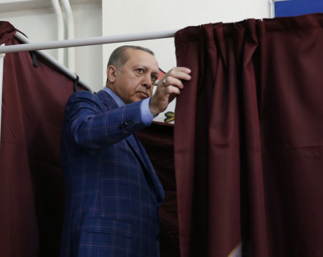 Yes or No? Divided Turks vote on expanding president's power