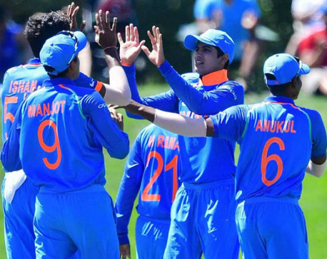 India beat Pakistan by 203 runs to reach U19 World Cup final