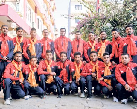 Nepali U-19 cricket team capable of beating any opponent: Binod Das