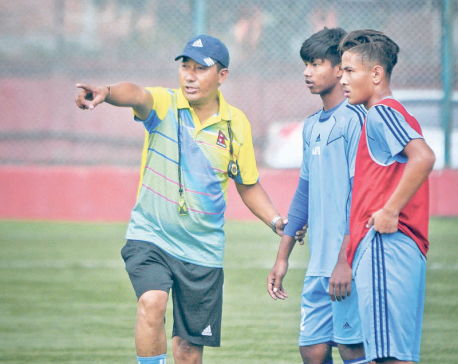 National team duty is big test: Coach Lopsang