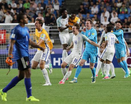 England defeats Venezuela to win U20 World Cup