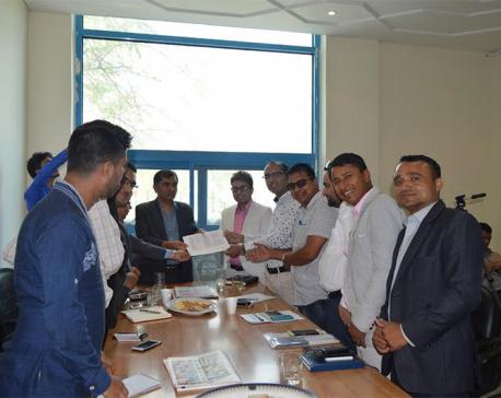 Ensure hassle-free info to journalists: FNJ to UAE Nepali Embassy