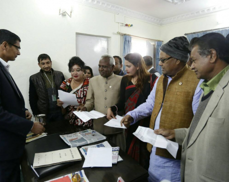 UDMF officially handovers letter of withdrawal to Speaker
