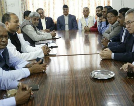 NC, CPN (Maoist Center), UDMF seal 3-point deal