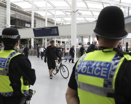 UK police release 3 bomb suspects; Grande to play concert