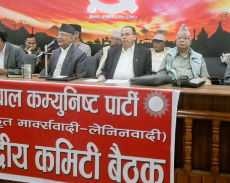 PM failed to abide by diplomatic decorum: Oli