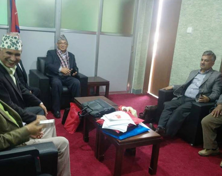 UML, Maoist Center to complete first draft of political document by March 6