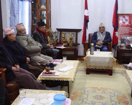 CPN-UML standing committee meeting  underway