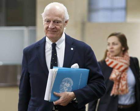 UN Syria envoy urges Putin to have 'courage' to push Assad