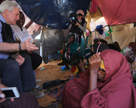 UN chief in Somalia on emergency visit to focus on famine