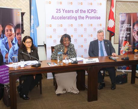 Top UN official applauds Nepal's efforts for reproductive health, women empowerment