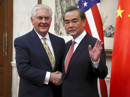 North Korea, South China Sea on Tillerson agenda in Beijing