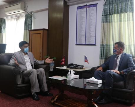 US positive about providing support to Nepal to combat coronavirus: US envoy