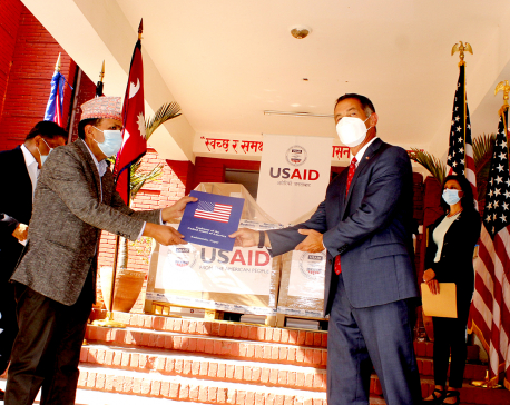 United States provides 100 ventilators to Nepal to combat COVID-19