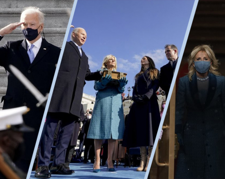 In Photos: US President Joe Biden takes office