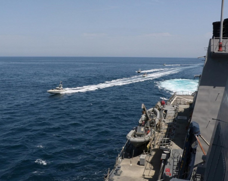 Trump instructs U.S. Navy to destroy Iranian gunboats 'if they harass our ships at sea'