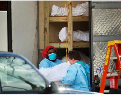 U.S. coronavirus death toll tops 23,000