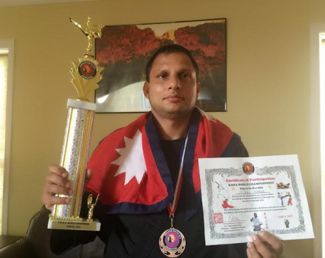 Karate player Thakuri listed for Guinness World Records