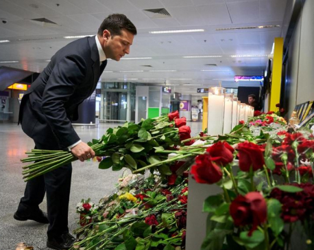 Ukraine president expects full investigation, compensation from Iran on plane crash