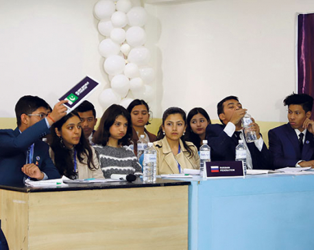 Uniglobe College conducts third iteration of Uni-Global College International Model United Nations